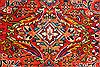 Mahal Multicolor Hand Knotted 113 X 172  Area Rug 254-30155 Thumb 9
