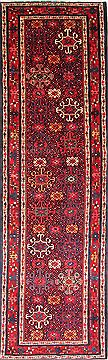 Persian Karajeh Beige Runner 13 to 15 ft Wool Carpet 30157