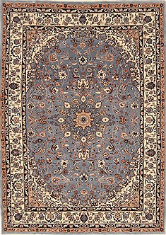 "Nain Beige Hand Knotted 4'9"" X 6'8""  Area Rug 255-30186"