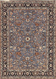 "Nain Beige Hand Knotted 4'0"" X 6'7""  Area Rug 255-30188"