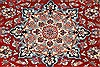 Isfahan Red Hand Knotted 65 X 89  Area Rug 255-30208 Thumb 5
