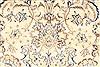 Mashad Beige Hand Knotted 128 X 190  Area Rug 254-30229 Thumb 6