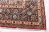 Tabriz Blue Hand Knotted 132 X 190  Area Rug 254-30230 Thumb 1