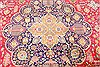 Tabriz Blue Hand Knotted 132 X 190  Area Rug 254-30230 Thumb 2