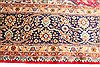 Tabriz Blue Hand Knotted 132 X 190  Area Rug 254-30230 Thumb 3