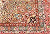 Tabriz Beige Square Hand Knotted 130 X 138  Area Rug 254-30232 Thumb 4