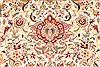 Tabriz Beige Square Hand Knotted 130 X 138  Area Rug 254-30232 Thumb 5