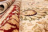 Tabriz Beige Hand Knotted 143 X 210  Area Rug 254-30240 Thumb 10