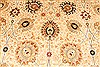 Tabriz Beige Hand Knotted 143 X 210  Area Rug 254-30240 Thumb 2