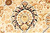 Tabriz Beige Hand Knotted 143 X 210  Area Rug 254-30240 Thumb 4