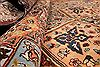 Tabriz Multicolor Hand Knotted 130 X 198  Area Rug 254-30297 Thumb 11