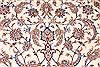Isfahan White Hand Knotted 134 X 200  Area Rug 254-30298 Thumb 7