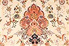 Tabriz Beige Hand Knotted 130 X 200  Area Rug 254-30302 Thumb 4
