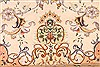 Tabriz Beige Hand Knotted 130 X 200  Area Rug 254-30302 Thumb 6