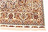 Tabriz Beige Hand Knotted 82 X 116  Area Rug 254-30333 Thumb 1