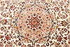 Tabriz Beige Hand Knotted 82 X 116  Area Rug 254-30333 Thumb 2