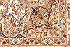 Tabriz Beige Hand Knotted 82 X 116  Area Rug 254-30333 Thumb 4