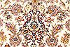 Tabriz Beige Hand Knotted 82 X 116  Area Rug 254-30333 Thumb 5