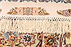 Tabriz Beige Hand Knotted 82 X 116  Area Rug 254-30333 Thumb 7