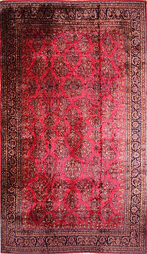 "Kashan Beige Hand Knotted 12'0"" X 20'0""  Area Rug 254-30335"