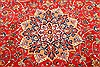 Najaf-abad Red Hand Knotted 102 X 150  Area Rug 250-30371 Thumb 8