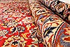Najaf-abad Red Hand Knotted 99 X 145  Area Rug 250-30457 Thumb 2