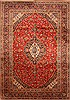 Kashan Red Hand Knotted 114 X 161  Area Rug 250-30461 Thumb 0