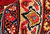 Khorasan Red Square Hand Knotted 118 X 131  Area Rug 250-30496 Thumb 11