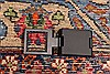 Khorasan Red Square Hand Knotted 118 X 131  Area Rug 250-30496 Thumb 6
