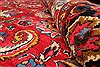Khorasan Red Square Hand Knotted 118 X 131  Area Rug 250-30496 Thumb 8
