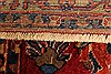 Sarouk Red Hand Knotted 112 X 165  Area Rug 250-30501 Thumb 10