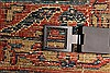 Sarouk Red Hand Knotted 112 X 165  Area Rug 250-30501 Thumb 11