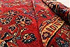 Sarouk Red Hand Knotted 112 X 165  Area Rug 250-30501 Thumb 2