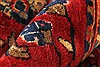 Sarouk Red Hand Knotted 112 X 165  Area Rug 250-30501 Thumb 4