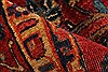 Sarouk Red Hand Knotted 112 X 165  Area Rug 250-30501 Thumb 5