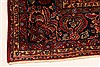 Sarouk Red Hand Knotted 112 X 165  Area Rug 250-30501 Thumb 6