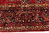 Sarouk Red Hand Knotted 112 X 165  Area Rug 250-30501 Thumb 8