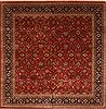 Kashmir Green Square Hand Knotted 120 X 121  Area Rug 250-30504 Thumb 0