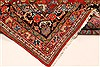 Mashad Red Hand Knotted 138 X 205  Area Rug 250-30506 Thumb 6