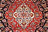 Kashan Red Hand Knotted 80 X 113  Area Rug 255-30514 Thumb 11