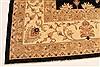 Pishavar Black Hand Knotted 133 X 178  Area Rug 250-30521 Thumb 11