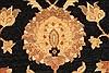 Pishavar Black Hand Knotted 133 X 178  Area Rug 250-30521 Thumb 2