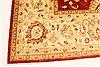 Pishavar Red Hand Knotted 136 X 172  Area Rug 250-30527 Thumb 13