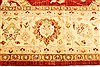 Pishavar Red Hand Knotted 136 X 172  Area Rug 250-30527 Thumb 1