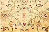 Pishavar Yellow Hand Knotted 126 X 179  Area Rug 250-30622 Thumb 11