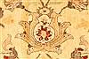 Pishavar Yellow Hand Knotted 126 X 179  Area Rug 250-30622 Thumb 2