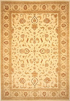 "Ziegler Beige Hand Knotted 14'0"" X 20'2""  Area Rug 250-30648"