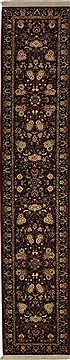 "Kashan Red Runner Hand Knotted 2'3"" X 11'10""  Area Rug 276-30682"