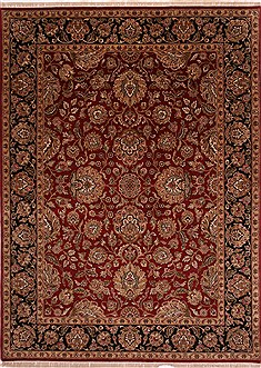 "Jaipur Red Hand Knotted 8'11"" X 12'0""  Area Rug 301-30694"