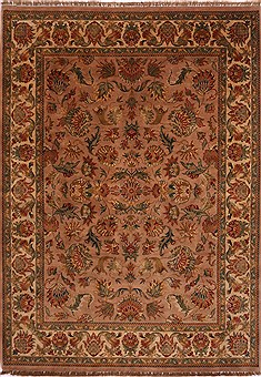 "Jaipur Purple Hand Knotted 8'11"" X 12'5""  Area Rug 301-30698"